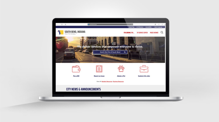 City of South Bend Website
