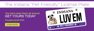 "You can learn more about getting a ""Pet Friendly"" license plate by clicking here"